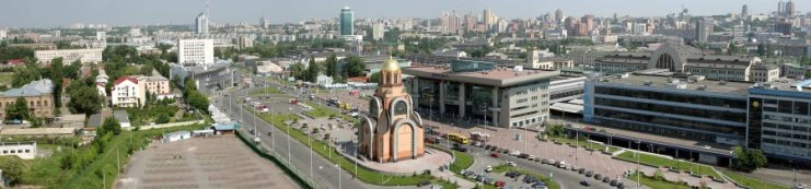 Railway Station Square in Kiev